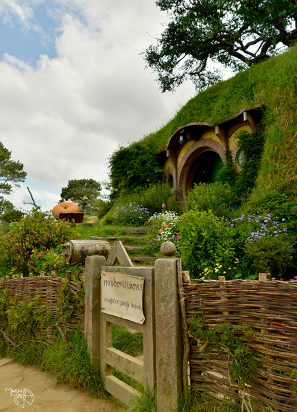 Hobbiton New Zealand 2016 by Mariah Nile