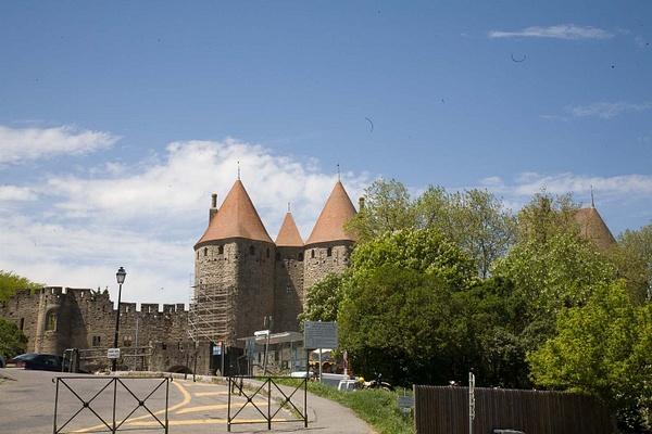 La Cite, Carcassonne by MartinBishop