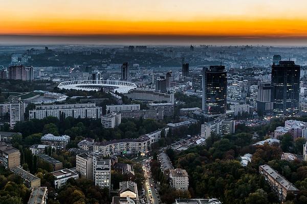 Kiev by Oleg Kurovsky