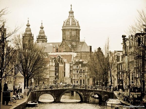Old fashioned Amsterdam by OlegIvanov