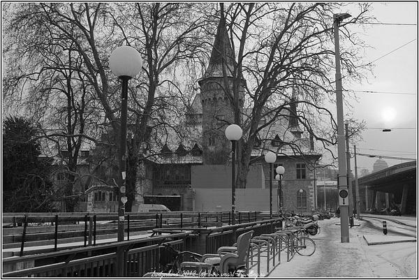 Zurich bw by OlegIvanov