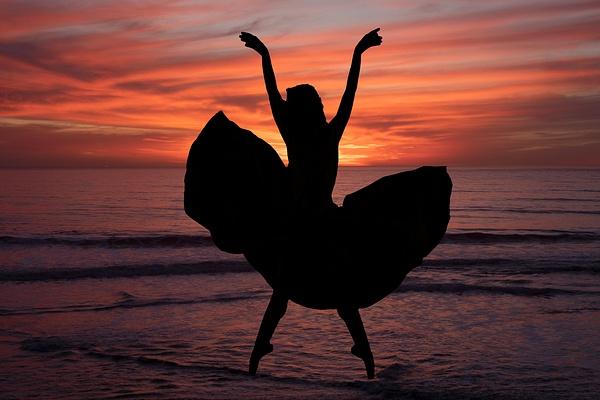 342 Dancer At Sunset 1 342of365 - Ballet - Gregory Edwards Photography