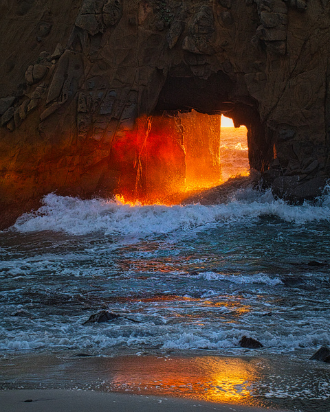 125 Pfeiffer Sun Portal 20171226 #9  125of365 - California Landscapes - Gregory Edwards Photography