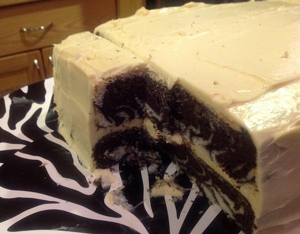 The Zebra Cake by AshleyPearce