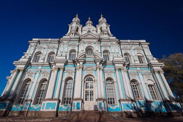 Смольный собор by MayaBuriakina