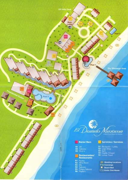 EDM Resort Map