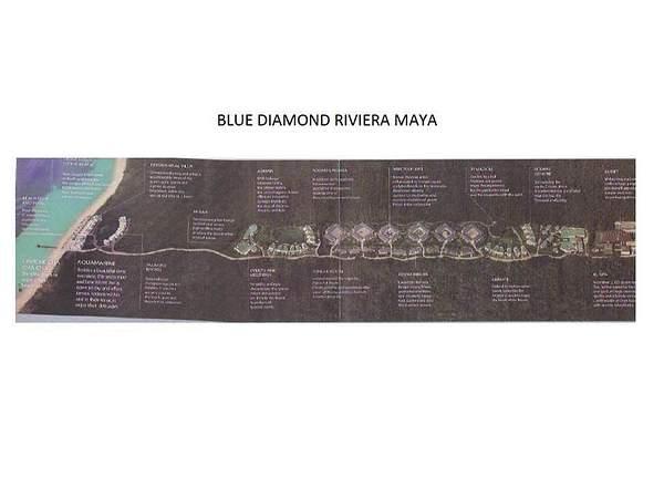 Blue Diamond Map