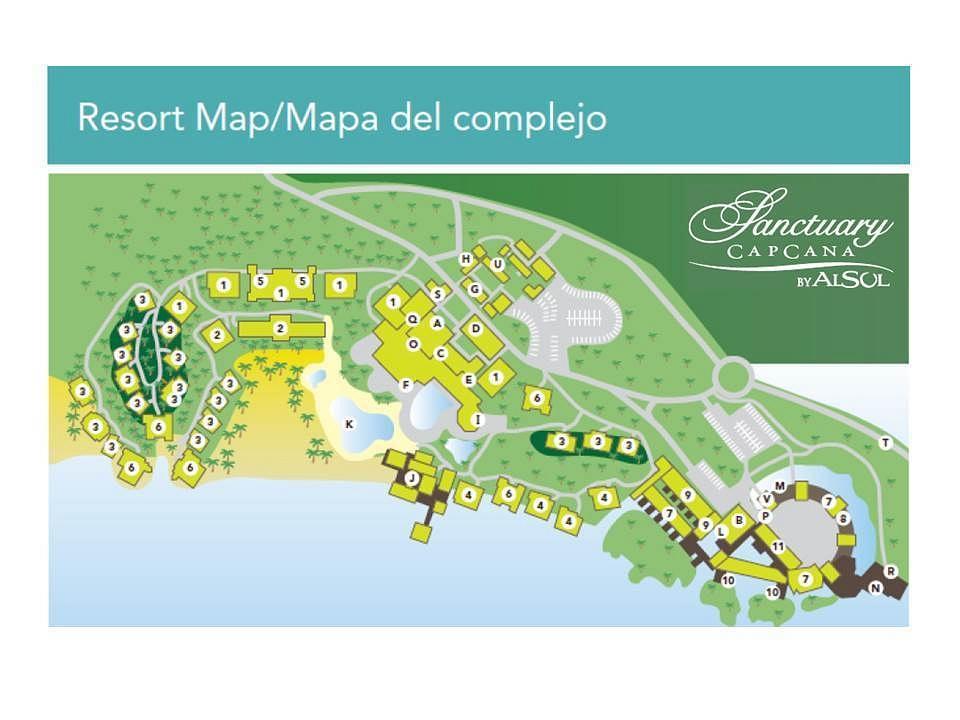 Sanctuary Cap Cana Resort Map1 by flipflopman