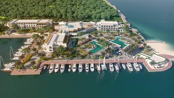 Tiara Resort Layout Rendering_3
