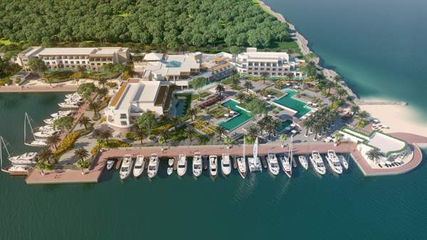 Tiara Resort Layout Rendering