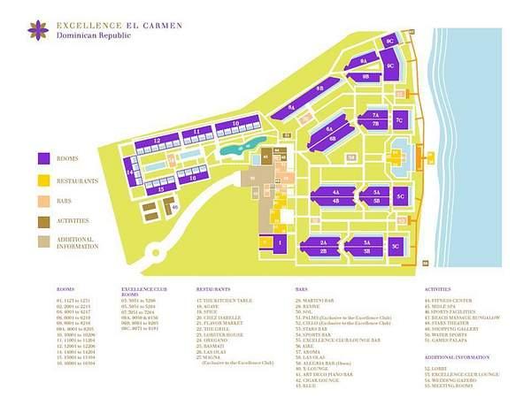 Excellence El Carmen_latest map