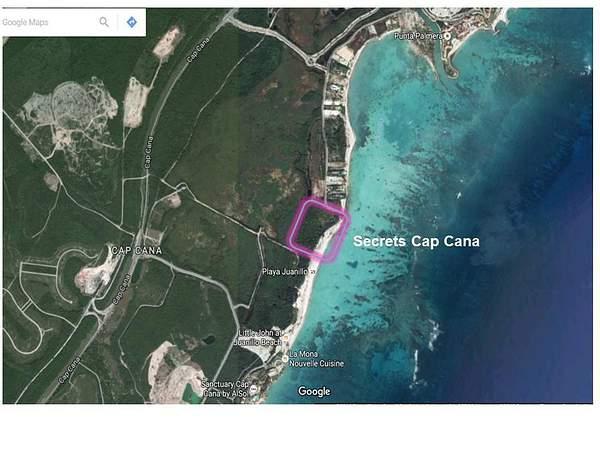 Location of Secrets Cap Cana