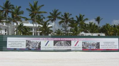 Hyatt Cap Cana Construction & Beach_May 2019