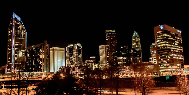 Charlotte Night View