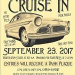 Oakwood Surplus Barn  Car Show 9/23/17