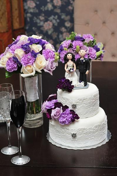 Sean and Jennifer's Wedding (Crafts) by DebBoKay