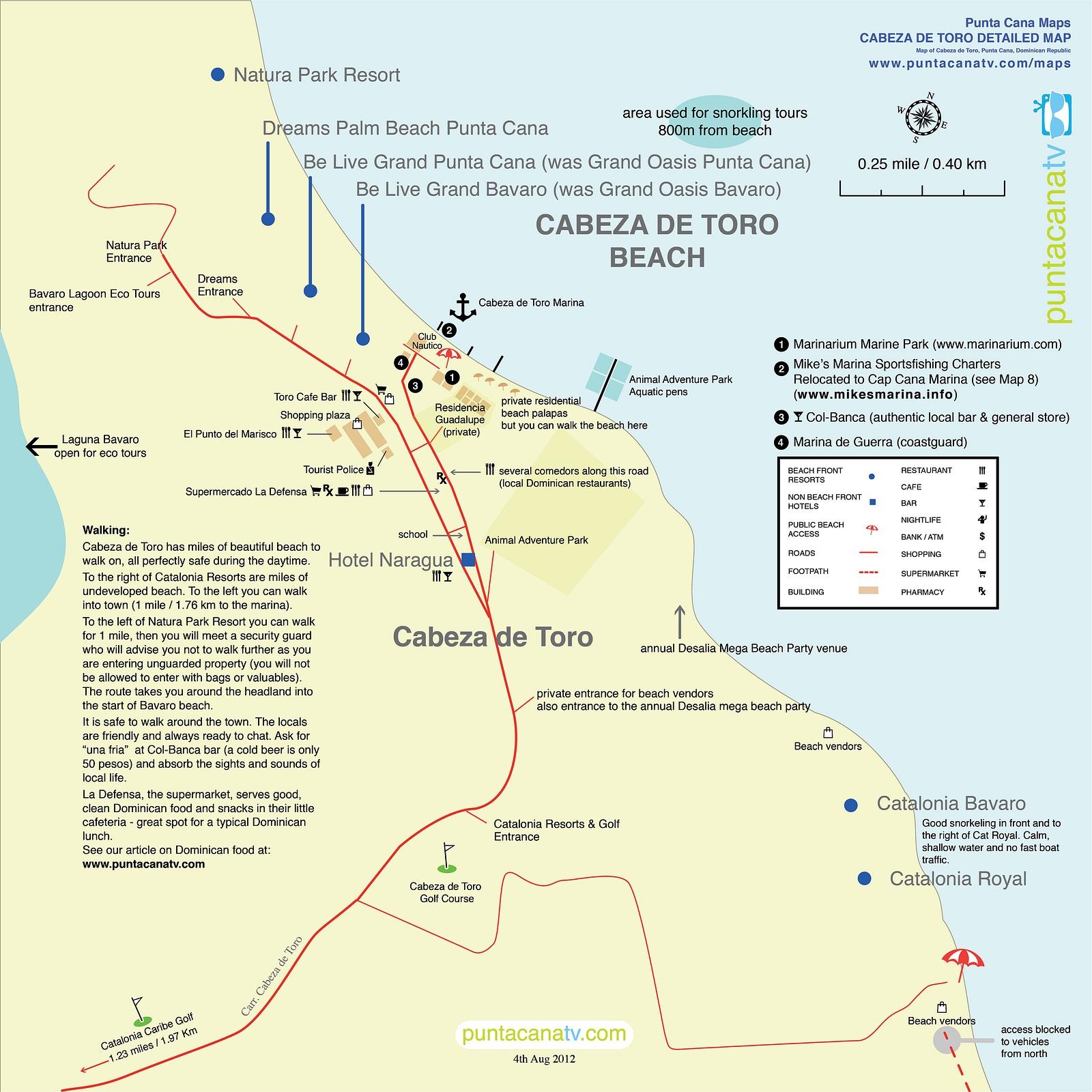 Slideshow Map 7 Punta Cana Beach