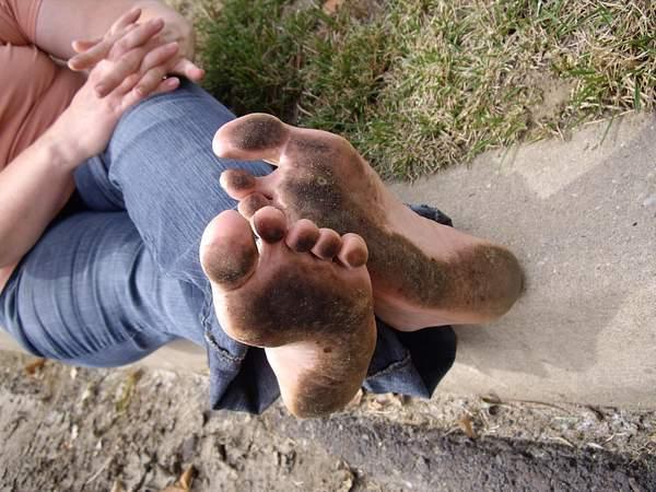 Denise Dirty Feet # 10 by BrianFitzpatrick885