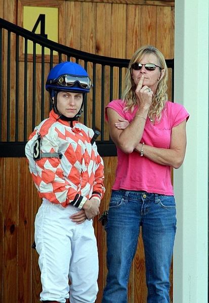 Suffolk Downs 2012 by femalejockeys