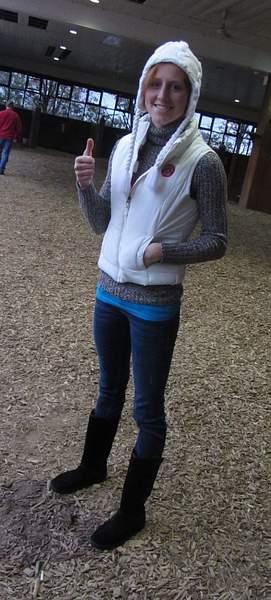 Kaylia and the thumb