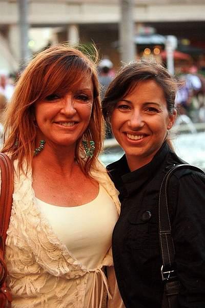 Jockeys Francine Villeneuve &  Melanie Pinto