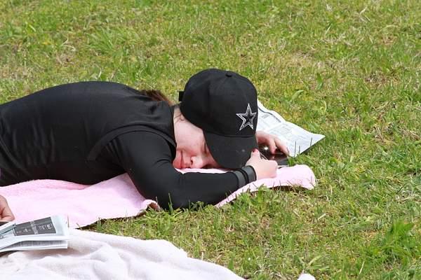 Maria sleeping