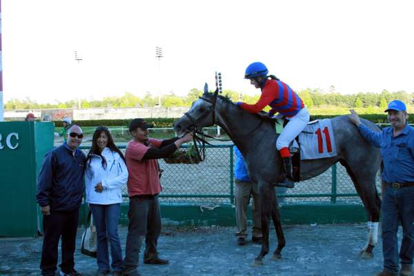 Maria wins the last race of the ACRC 2013 meet