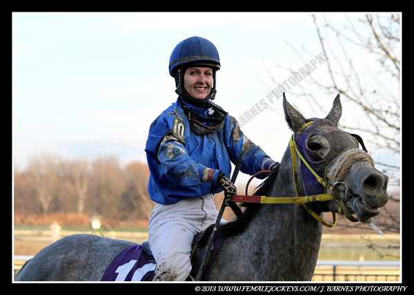 Dec 7, 2013 @ Parx Racing by Chris Forbes