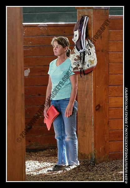 ex jockey, now trainer Jackie Griffin