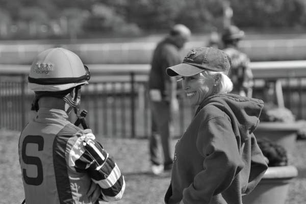 Michelle Castillo (ex-jockey, now trainer)
