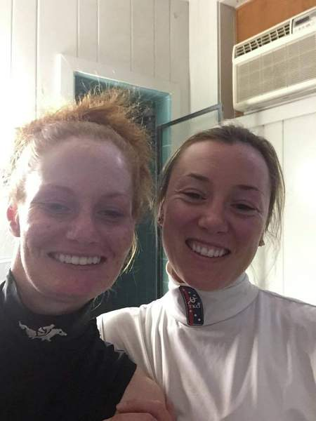 Amanda Auwarter and Alice Cartright