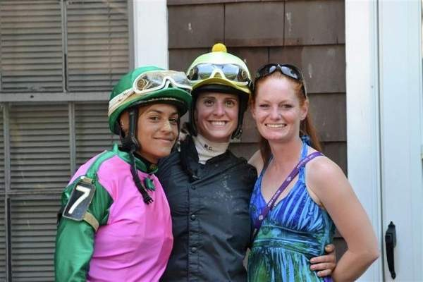 Carol Cedeno, Maria Remedio and Amanda Auwarter