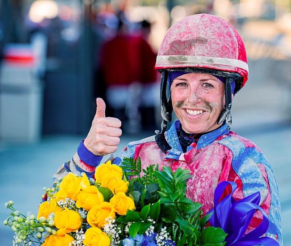 Sophie Doyle wins $ 1 million Cotillion @ Parx Racing by...