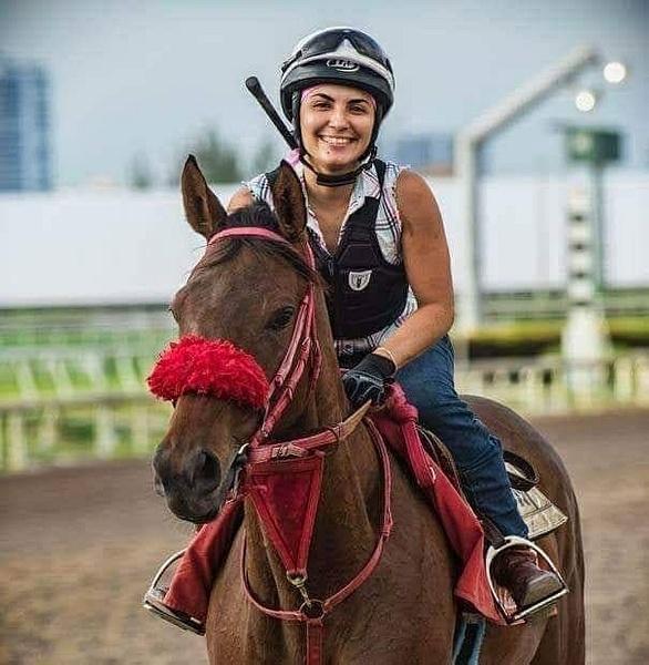 Jockey May  Rivas by femalejockeys