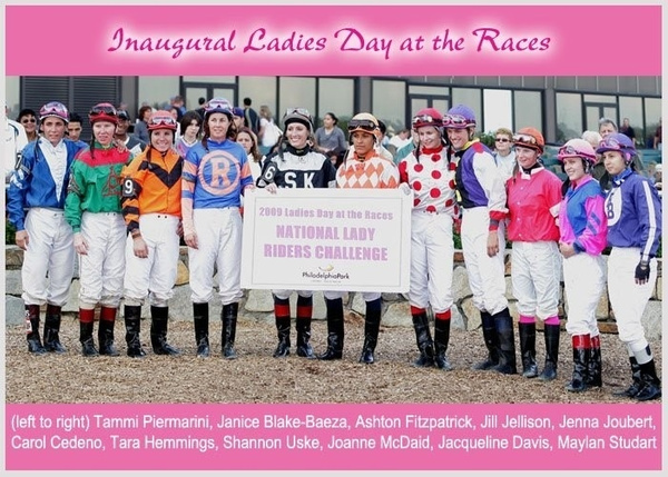 Parx 09 Female Jock Challenge by femalejockeys