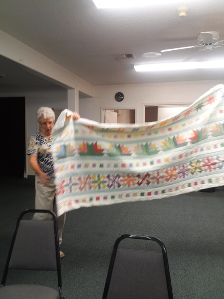 April 2013 by UniversalQuilters
