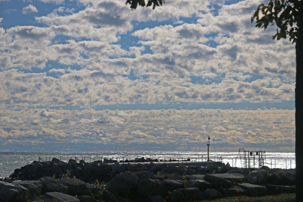 Lake Michigan shoreline, Evanston