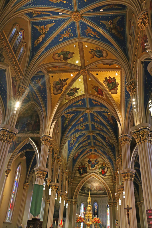 The Basilica of the Sacred Heart, Notre Dame