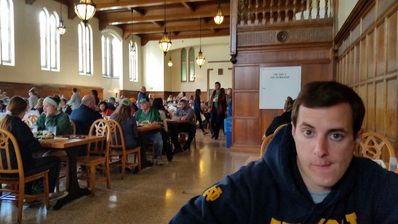 Brunch at South Dining Hall