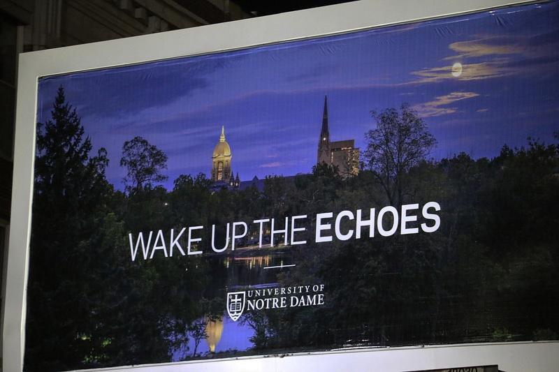 Billboard across from Fenway Park