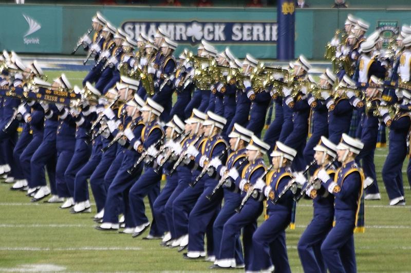 The Band of the Fighting Irish