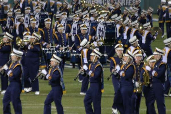 The Band of the Fighting Irish