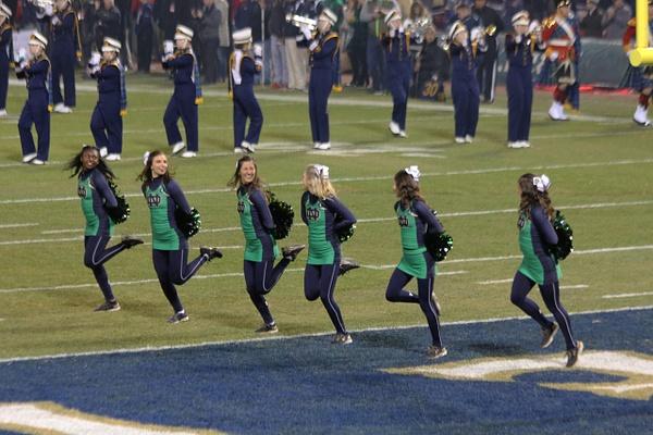 ND Cheerleaders