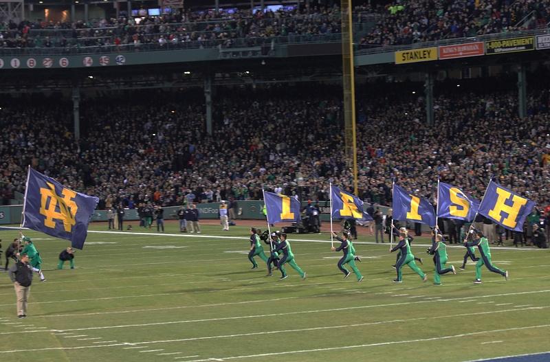 Here come the Irish!