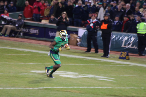 Amir Carlisle on a punt return