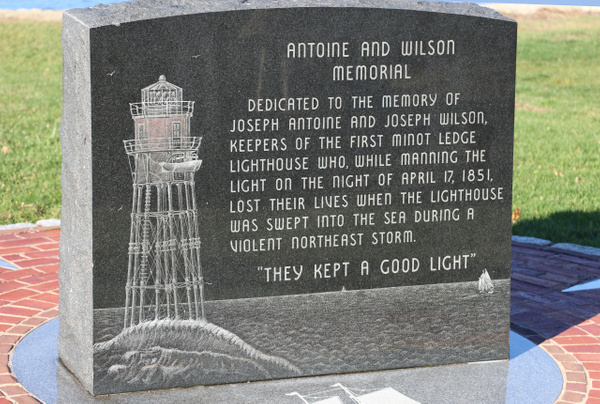 The keepers of the original Minot Light perished in a storm
