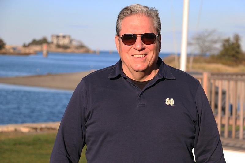 Gary at Cohasset Harbor