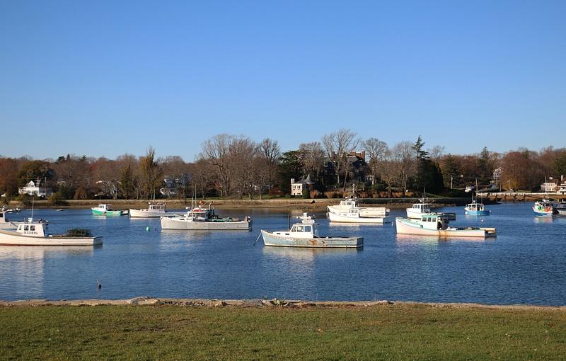 Coahasset Harbor-Lobster Boat Fleet