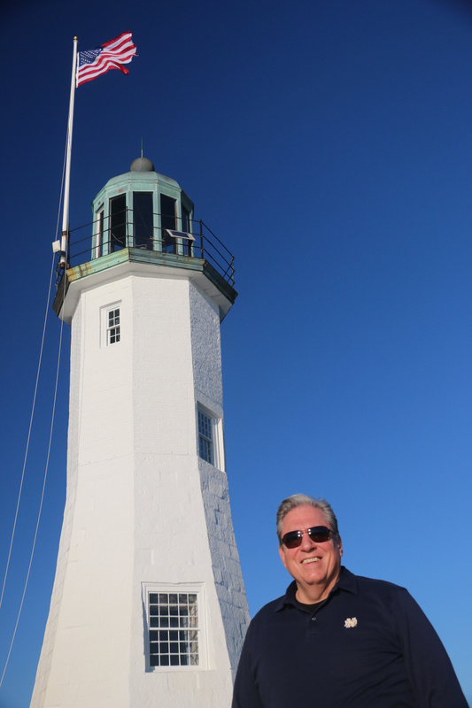 Gary at Scituate Light
