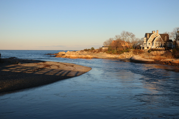 Where Little Harbor empties into the Atlantic, Cohasset